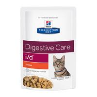 Hills Prescription Diet I/D Katt, Chicken Pouch 12x85 g