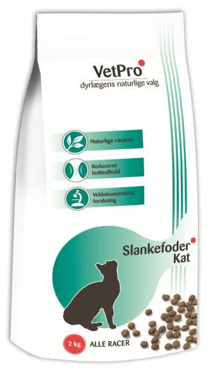VetPro Viktminskning Kattfoder, 2 kg