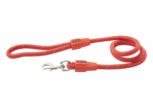BUSTER Reflective Rope 120 cm koppel, Röd