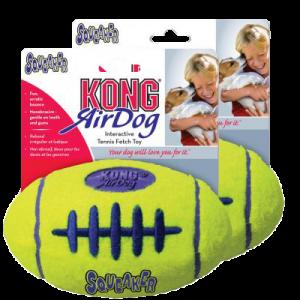 Kong AirDog Squeaker Football tennisboll
