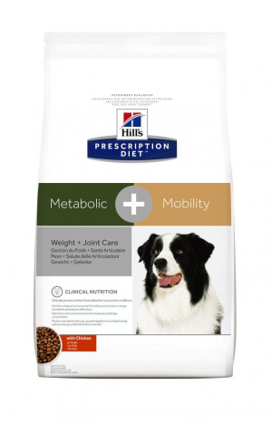 Hills Prescription Diet Canine Metabolic + Mobility, 12 kg