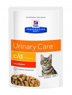 Hills PD c/d Multicare Feline, Chicken 12x85g