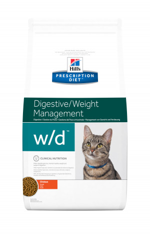 Hills Prescription Diet Feline W/D, 5 kg