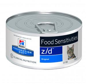 Hills Prescription Diet Z/D, Katt, 156g Våtfoder