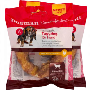 Dogman Tyggering med Kylling 65 gr