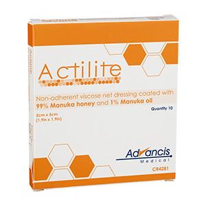 Actilite Viskosnät, 5x5 cm, 10 st