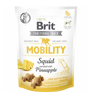 Brit Functional Snack - Mobility Squid & Pineapple, 150g