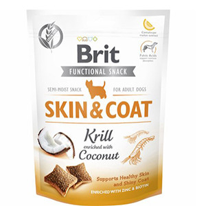 Brit Functional Snack - Skin & Coat Krill