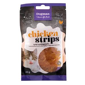 Dogman Chicken Strips, 30g