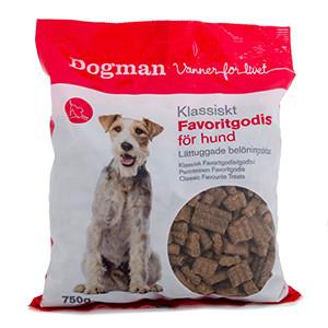 Dogman Klassiskt Favoritgodis för hund, 750 g