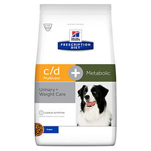 Hills Prescription Diet Canine c/d + Metabolic  hund
