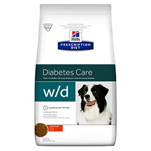 Hills Prescription Diet W/D Canine 12 kg hund
