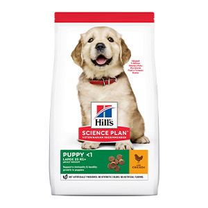 Hill's Science Plan Puppy Large Breed Dog Food, Chicken, 14,5 kg