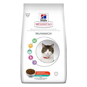Hill's VET ESSENTIALS NEUTEREDCAT Young Adult kattfoder med tonfisk