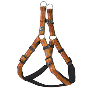 Kennel Equip Dog Harness. Hundesele, Orange