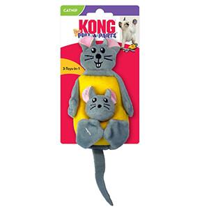 KONG Pull-A-Partz Cheezy, Kattleksaker