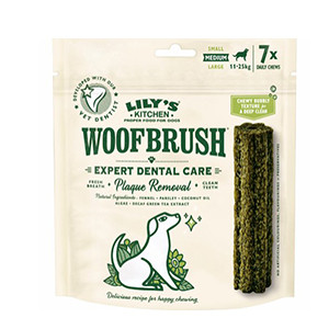 Lilly´s Kitchen Woofbrush Dental Care hund 7x28