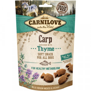Carnilove Dog Semi Moist Snack Carp, 200g