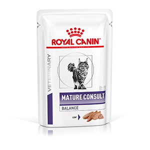 Royal Canin Mature Consult Stage 1 Cat, 12x85g