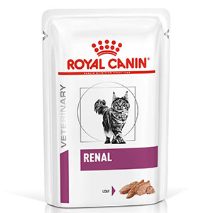 Royal Canin Renal Kat,12x85 g, Vådfoder