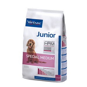 Virbac HPM Junior Dog Special Medium