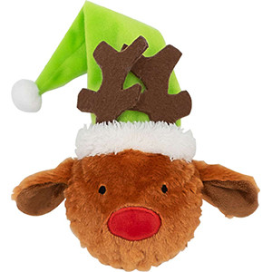 Xmas Throwing Reindeer, 30 cm