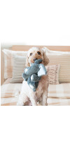 KONG elephant toy dog