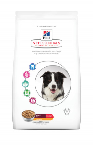Hills VetEssentials Adult Medium, Kyckling, 10kg