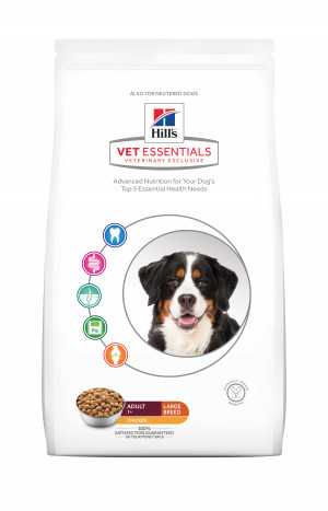 Hills VetEssentials Adult Large Breed, 13 kg, Kyckling