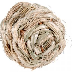 Gräsboll m. bjällra, ø 6 cm