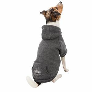 Be Nordic - Hundetrøje med Hætte, Grå