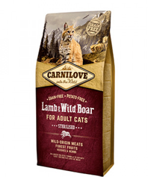 Carnilove Cat Lamb & Wildboar