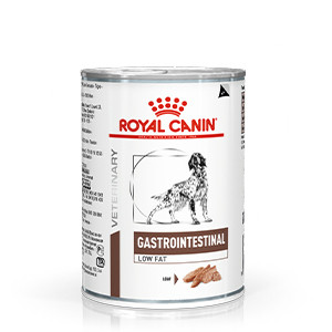 Royal Canin Gastro Intestinal Low Fat, Våtfoder, 410 g