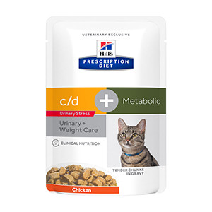 Hills PD feline, c/d Urinary Stress + Metabolic, 12x85