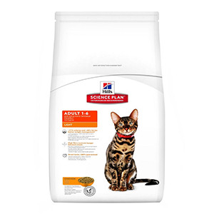 Hills Science Plan Feline Adult Light Chicken, 5 kg