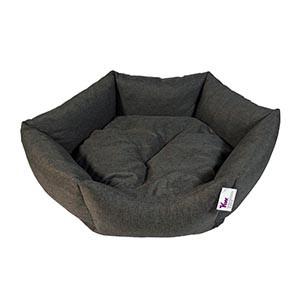 hundeseng grå KW XL