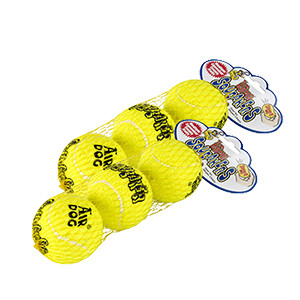 KONG AirDog Squeaker tennisbollar 3 st. M