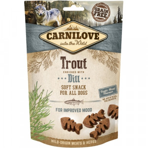 Carnilove Dog Semi Moist Snack Trout, 200g