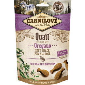 Carnilove Dog Semi Moist Snack Quail, 200g