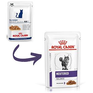 Royal Canin Neutered Weight Balance vådfoder 12 x 100 g